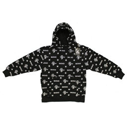 9010 Mens 9010 Snowboard Co. Hoodie Sweatshirt Icon Black, , 256