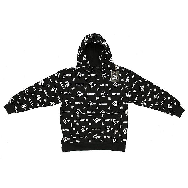 9010 Mens 9010 Snowboard Co. Hoodie Sweatshirt Icon Black, , 600