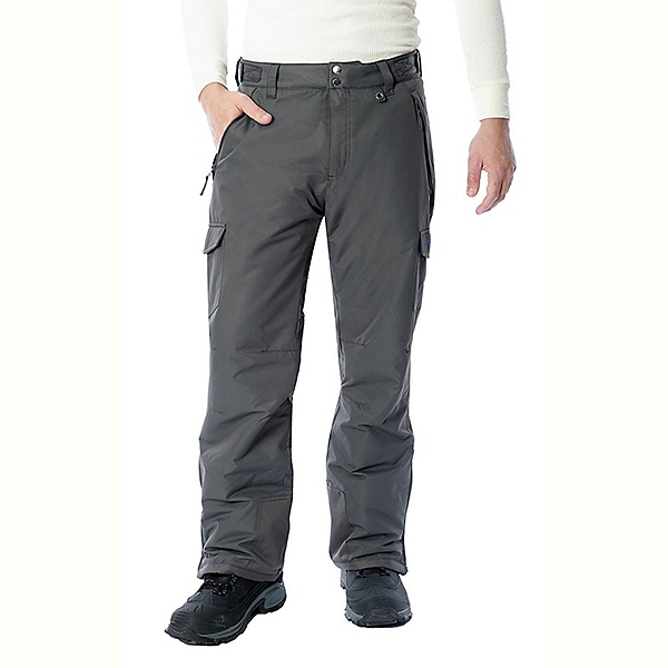 Arctix Classic Series Mens Ski Pants, Charcoal, 600