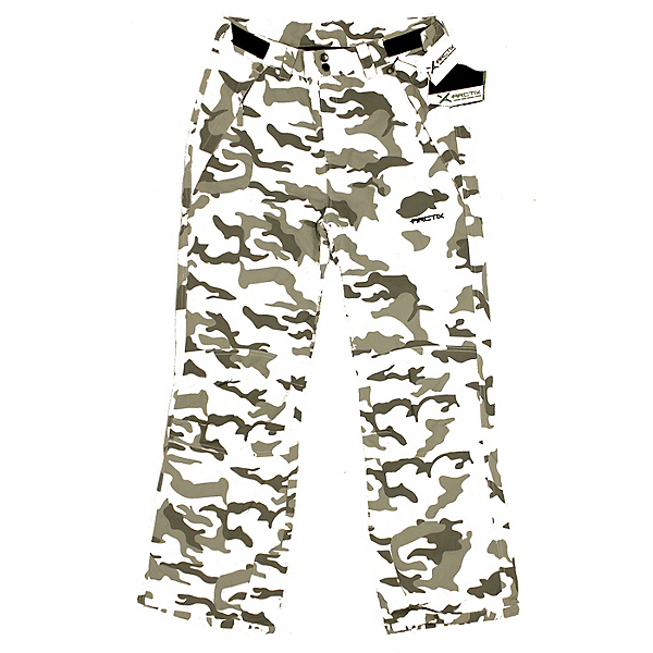 Arctix Youth NEW Reinforced Ski Snowboard Cargo Pants Snow Camo, Snow Camo, 600