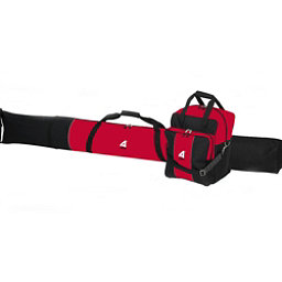 Athalon Single Combo Boot and Ski Bag Model #135 Red Black, Black And Red, 256