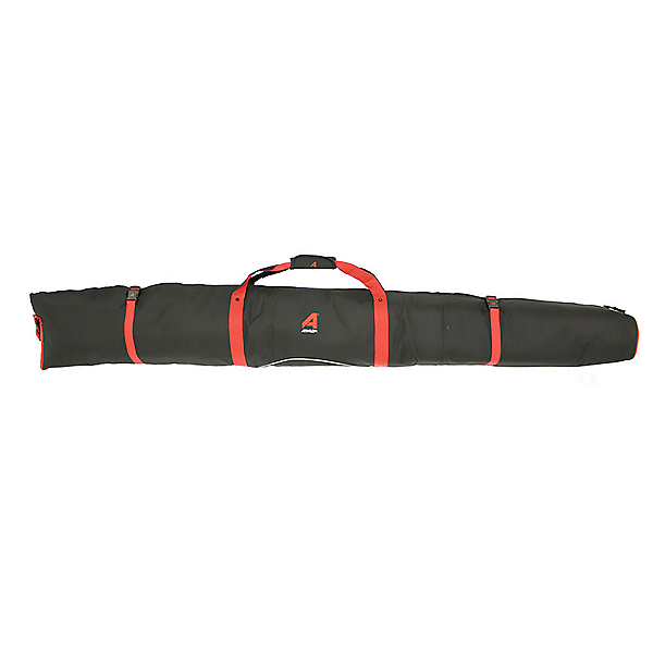 Athalon Single Ski Padded Ski Bag 2020, Red Black, 600