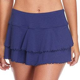 Body Glove Smoothies Lambada Skirt Bathing Suit Cover Up, Midnight, 256