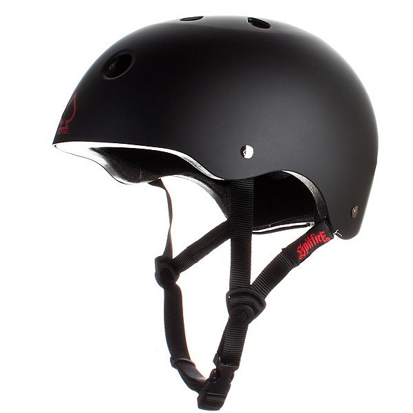 Pro-Tec The Classic Mens Skate Helmet, Spitfire-Black, 600