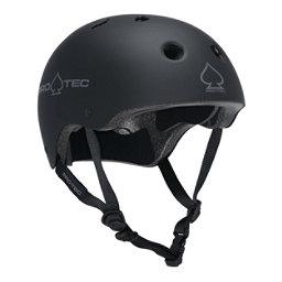 Pro-Tec The Classic Mens Skate Helmet 2017, Rubber Black, 256