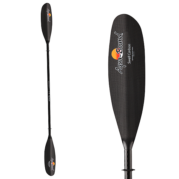 AquaBound Swell Carbon Plus Telescoping Kayak Paddle 2017, Black, 600