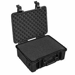 B&W Outdoor Cases Type 61 Sponge Insert Waterproof Case, Black, 256