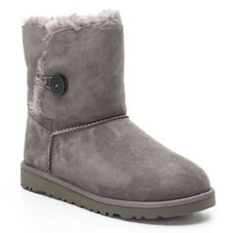 UGG Bailey Button Girls Boots, Grey, 256