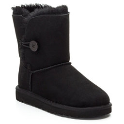 UGG Bailey Button Girls Boots, Black, 256