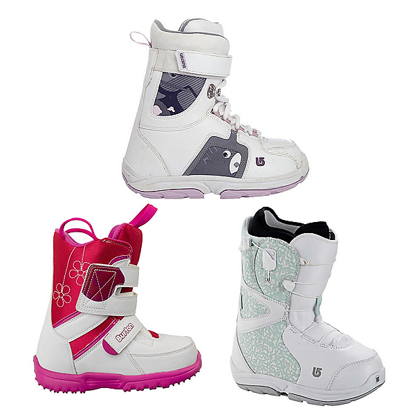 Used Premium Lace Girls Snowboard Boots Snowboard Boots, , 600