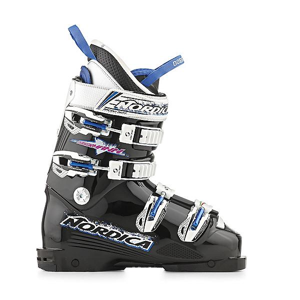 Nordica Dobermann Team 80 Junior Race Ski Boots, Black, 600