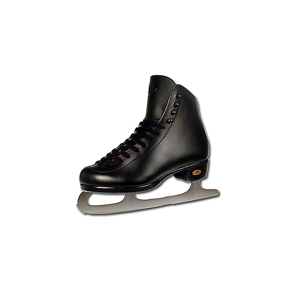 Riedell Black 21J Kids Figure Ice Skates, Black, 600