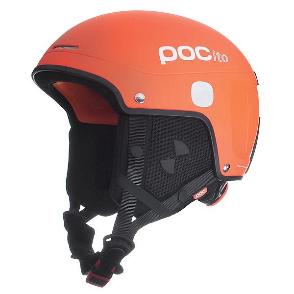 POC POCito Skull Light Kids Helmet, Flourescent Orange, 600