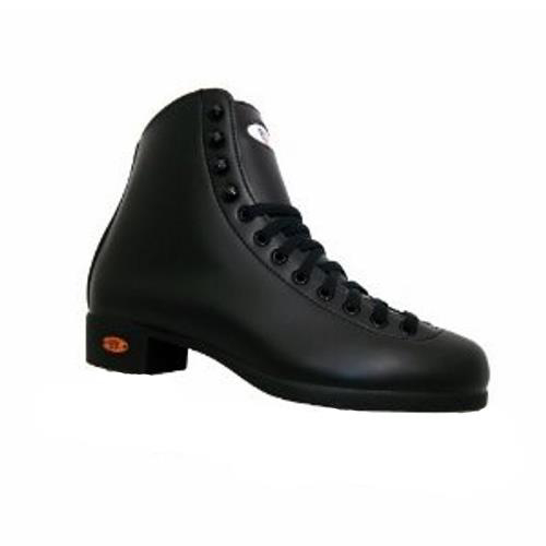 Riedell Black 21J Boys Figure Skate Boots im test