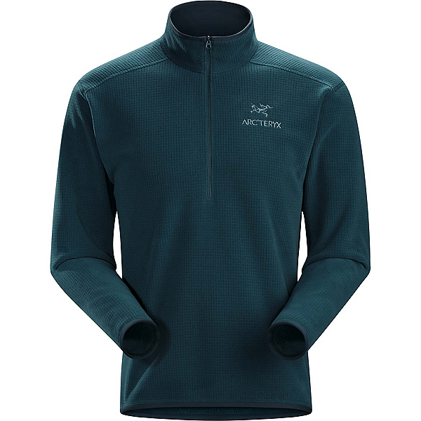 Arc'teryx Delta AR Zip Neck Mens Mid Layer, Nocturne, 600