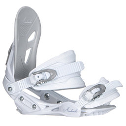 Avalanche Serenity Womens Snowboard Bindings, White, 256
