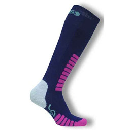 Euro Sock Supreme Girls Ski Socks, Navy, 256
