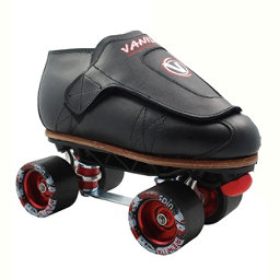 Vanilla Freestyle Sunlite Backspin Remix Boys Jam Roller Skates, Black, 256