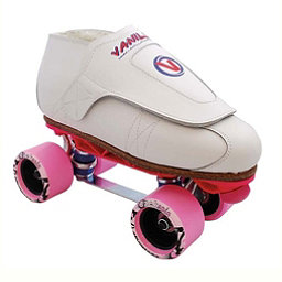 Vanilla Freestyle Sunlite Backspin Remix Boys Jam Roller Skates, White, 256