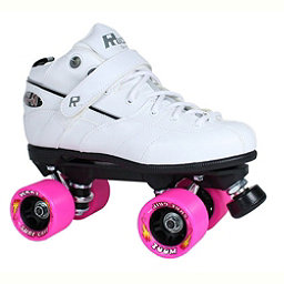 Rock GT-50 Zoom White Boys Speed Roller Skates, White, 256