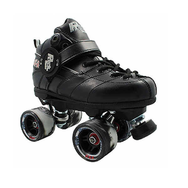 Rock GT-50 Twister Black Boys Speed Roller Skates, , 600