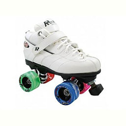 Rock GT-50 Twister White Boys Speed Roller Skates, White, 256