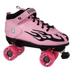 Rock  Sonic Boys Speed Roller Skates, Pink-Black Flames, 256