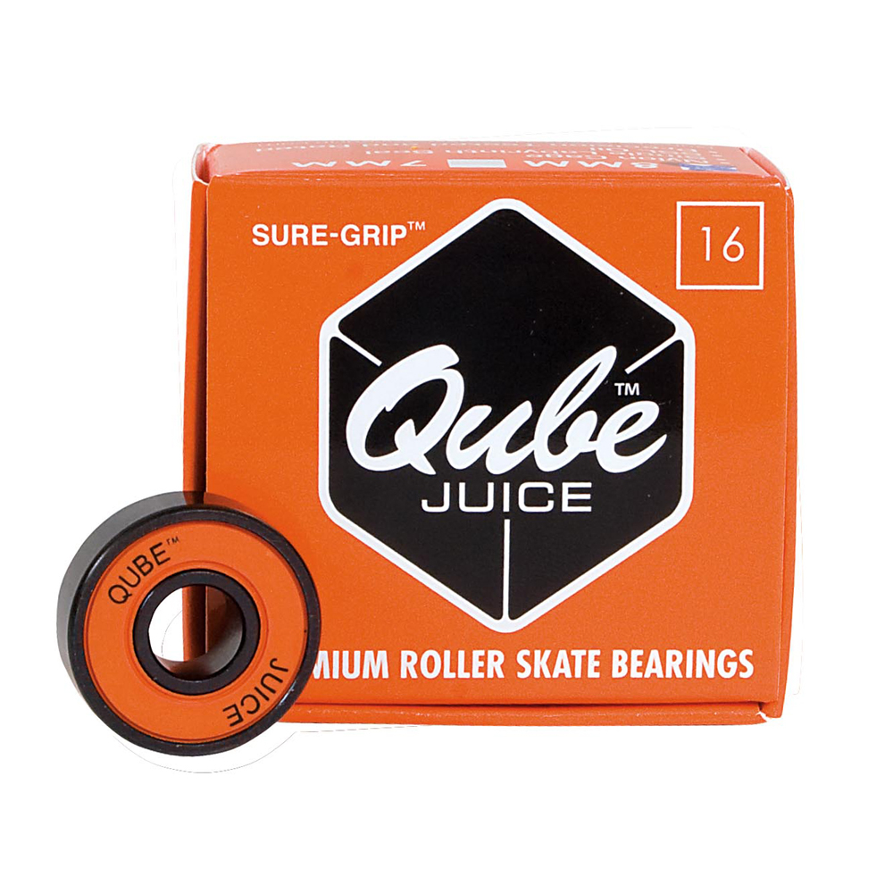 Sure Grip International QUBE Juice Skate Bearings im test