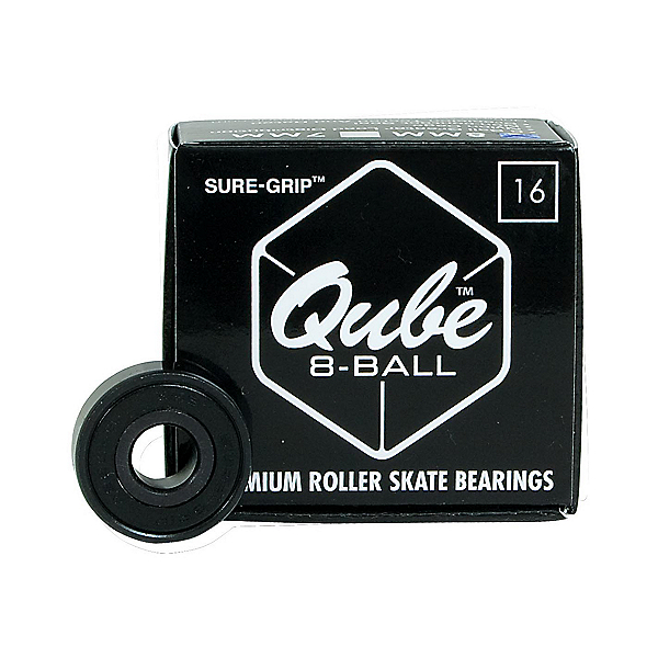 Sure Grip International QUBE 8-Ball Skate Bearings 2020, , 600