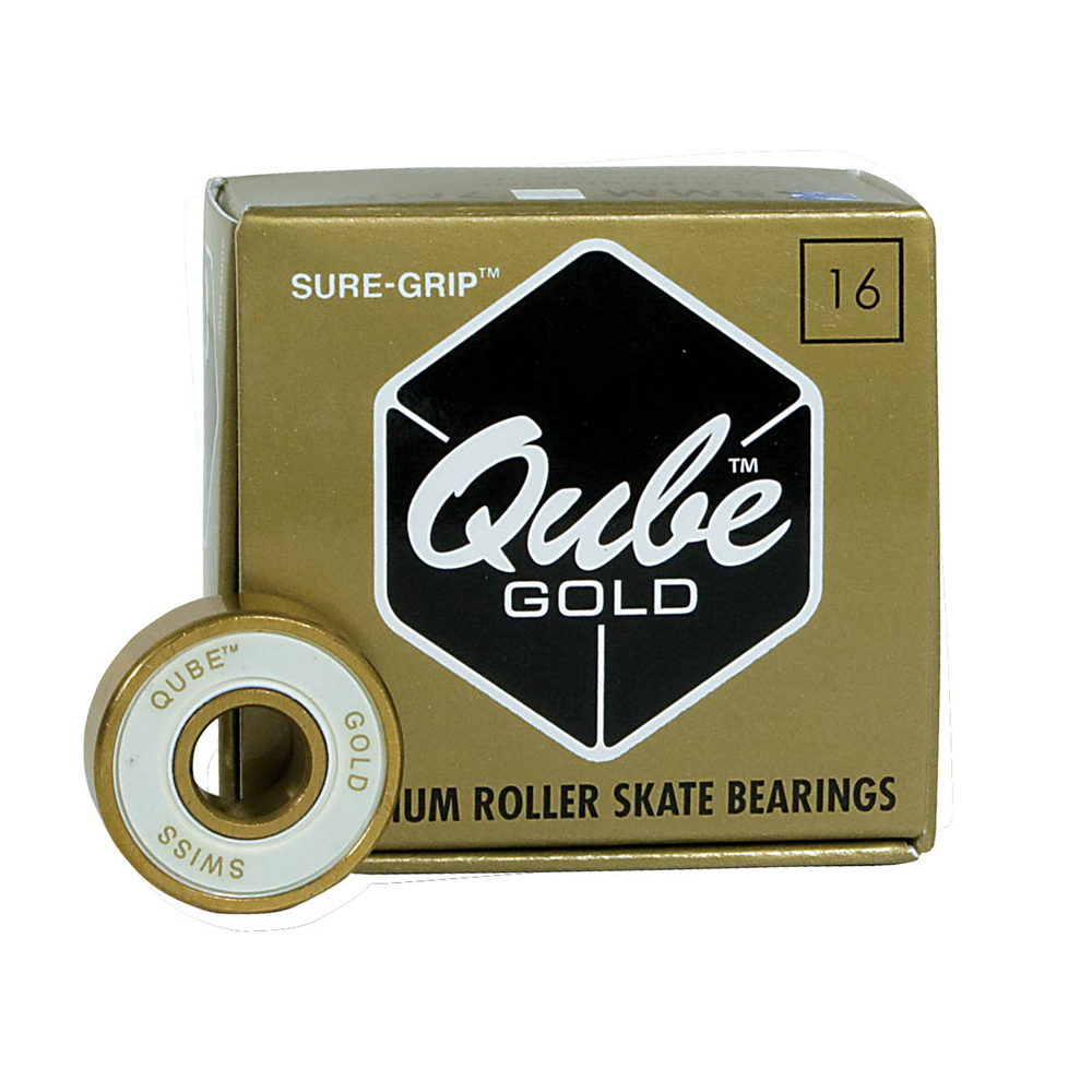 Sure Grip International QUBE Gold Swiss Skate Bearings im test