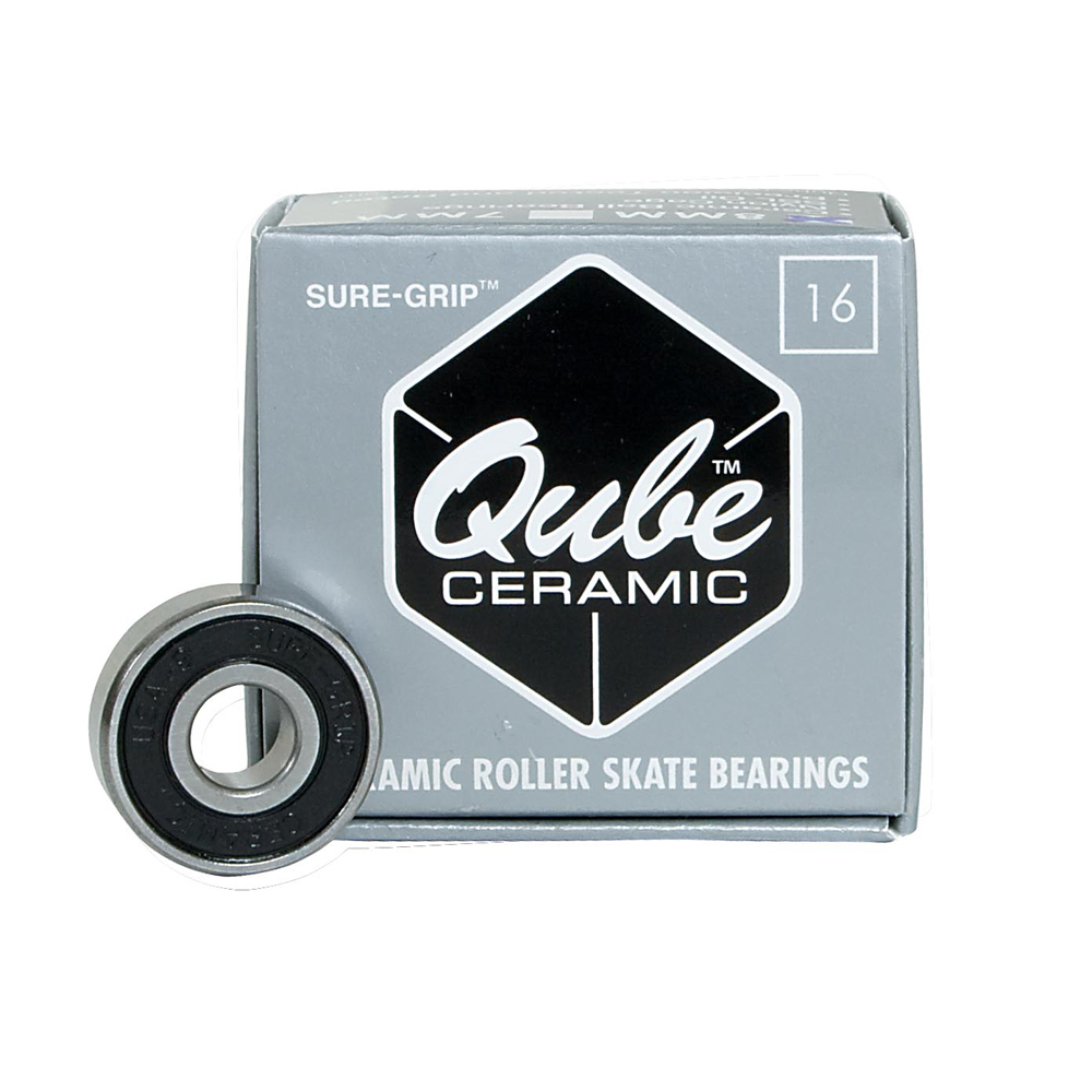 Sure Grip International QUBE Ceramic Skate Bearings im test