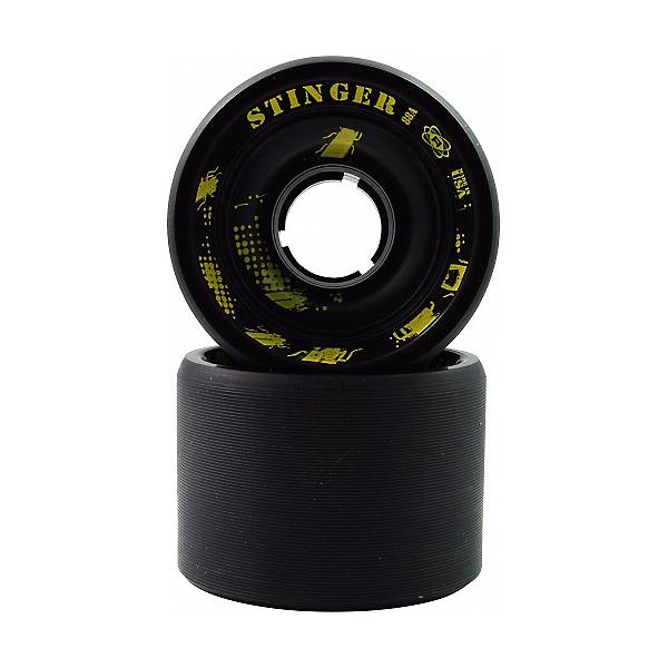 Atom Stinger Roller Skate Wheels - 8 Pack, Black, 600