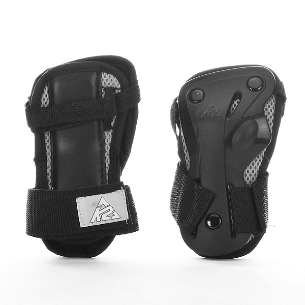 K2 Moto Wrist Guards 2018, Black-Silver, 600