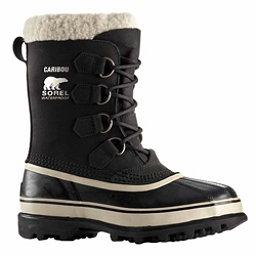Sorel Caribou Womens Boots, Black-Stone, 256