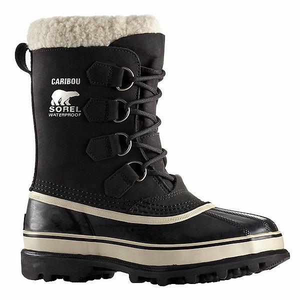 Sorel Caribou Womens Boots, Black-Stone, 600