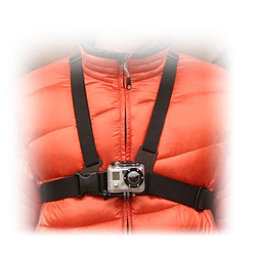 GoPro Chest Mount Harness 2018, Black, 256