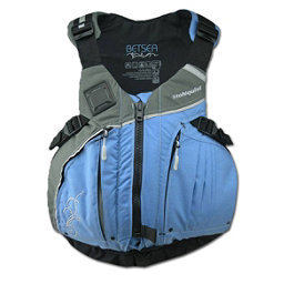 Stohlquist Betsea Womens Kayak Life Jacket 2018, Powder Blue-Gray, 256