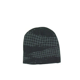 Hybrid Tees Ski or Snowboard Hat Hat, Bk W Gy Pattern, 256