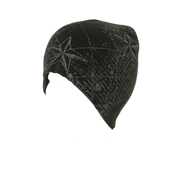 Hybrid Tees New Ski Snowboard Warm Beanie Hat Stars & Scroll Pattern, , 600