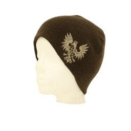 Hybrid Tees New Ski Snowboard Warm Beanie Hat Phoenix Bird Crest Pattern, Br W Embroidered Eagle, 256