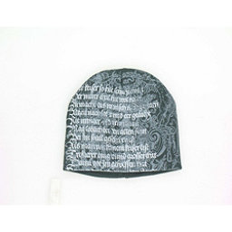 Hybrid Tees Ski or Snowboard Hat, Gy W Lighter Gy Poem, 256