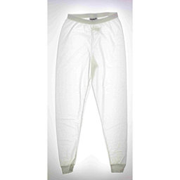 Kenyon Ski 100% Polyester Womens Long Underwear Pants, White, 256