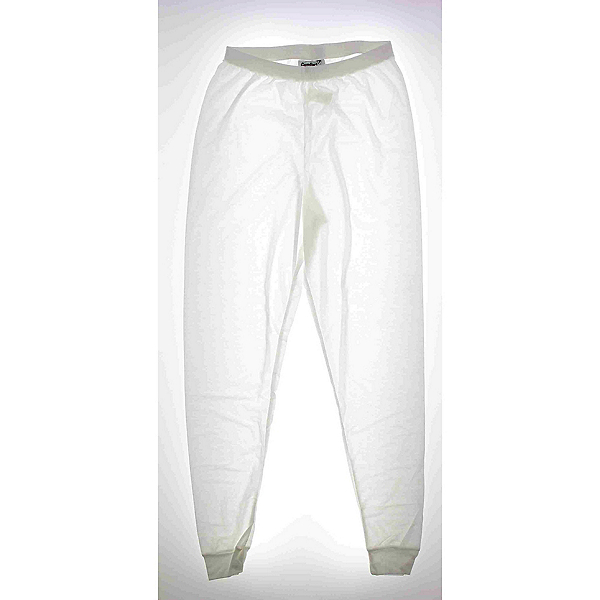 Kenyon Ski 100% Polyester Womens Long Underwear Pants, White, 600