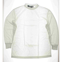 Kenyon Womens 100% Polyester White Underwear Ski Top Large, , 256