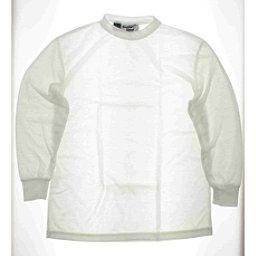 Kenyon Kenyon 100% Polyester White Underwear Top Womens Large Womens Long Underwear Top, , 256