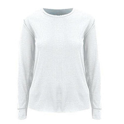 Medalist ThermoGear Womens Long Underwear Top, White, 256