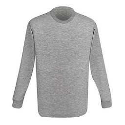 Medalist Mens Double Base Layer Merino Wool Top Long Sleeve, , 256