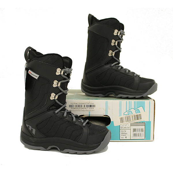 Morrow NEW IN BOX Slick Kids Youth Snowboard Boots 4 SALE, , 600