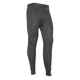 PolarMax Midweight Double Mens Long Underwear Pants, Grey, 256
