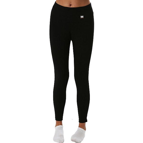 PolarMax Midweight Double Womens Long Underwear Pants, Black, 600